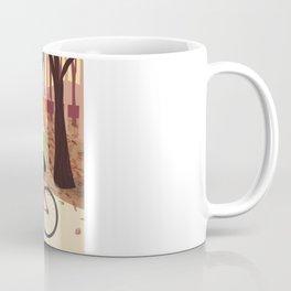 Bike Girl Coffee Mug