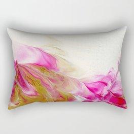Magenta and Gold #1 Rectangular Pillow