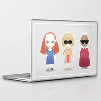 vogue Laptop & iPad Skins featuring Vogue by Ricky Kwong