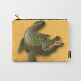 Crocodile - 'A Fantastic Journey' Carry-All Pouch