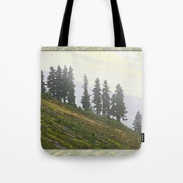 TIMBERLINE TREES Tote Bag