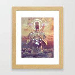 SEVEN GOD (everyday 08.07.18) Framed Art Print