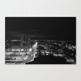 Downtown Anchorage Canvas Print