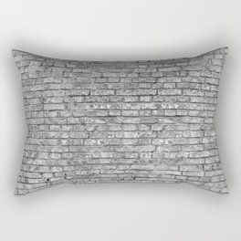 Vintage Brick Wall Rectangular Pillow
