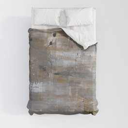 Silver and Gold Abstract Comforters