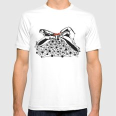 the Weaver MEDIUM Mens Fitted Tee White