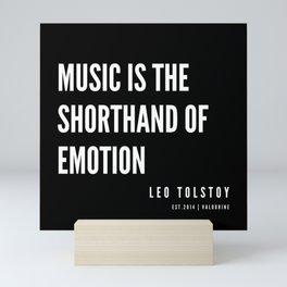 60    | Leo Tolstoy Quotes | 190608 Mini Art Print