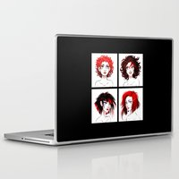 suits Laptop & iPad Skins featuring The Suits by AndytheLemon