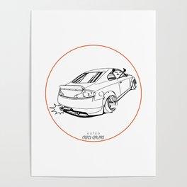 Crazy Car Art 0221 Poster
