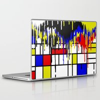 mondrian Laptop & iPad Skins featuring MONDRIAN by DIVIDUS