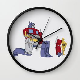 Not the Parts they were looking for... Wall Clock