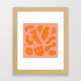 Summer Kitchen Camoflague Framed Art Print