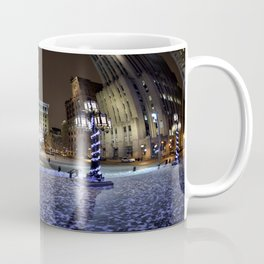 The Perfect City Winter Scene Coffee Mug