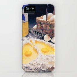 Eggs iPhone Case