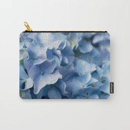 Soft Hydrangea Carry-All Pouch