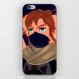 Legend of Zelda - Breath of the Wild - Link - Painting iPhone Skin