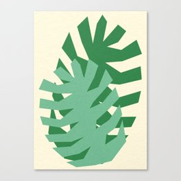 Two Leafs Canvas Print