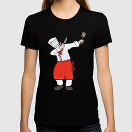A Nice Grilling Tee For Griller Dabbing Dab Griller T-shirt Design Barbecue Bbq Charcoal Knife Chef T-shirt
