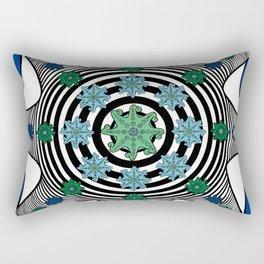 Fractal Octopus Rectangular Pillow