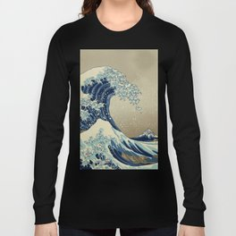 The Great Wave off 2049 Long Sleeve T-shirt