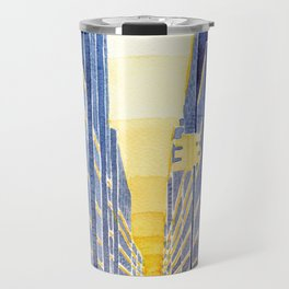 NYC, yellow cabs Travel Mug