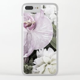 for the love of flowers 2 Clear iPhone Case