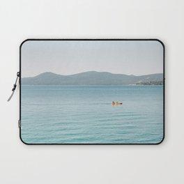 Summer Lake Day Laptop Sleeve