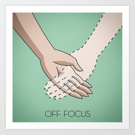Off Focus Art Print