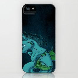 Kelpie the Hippocampus  iPhone Case