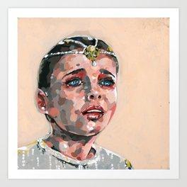Childlike Empress Painting Art Print