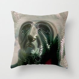 Humanity's Cry Throw Pillow