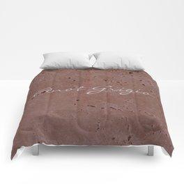 Pinot Grigio Wine Red Travertine - Rustic - Rustic Glam - Hygge Comforters