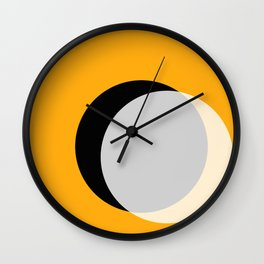 Eclipse - Gold Variant Wall Clock