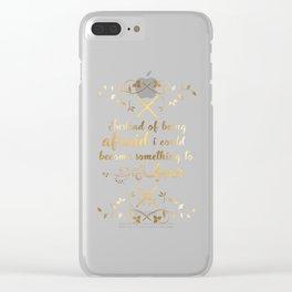 The Cruel Prince Artwork Clear iPhone Case