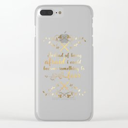 The Cruel Prince Artwork Clear iPhone Case