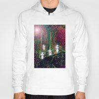 kodama Hoodies featuring Kodama under the tree by pkarnold + The Cult Print Shop