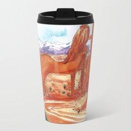 Arches National Park - Erotic Nature Couple Painting Travel Mug