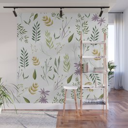 Floral pattern Wall Mural