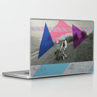 the cure Laptop & iPad Skins featuring The Cure by Naomi Vona