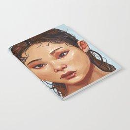 Red Eyes Portrait Notebook