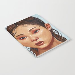 Red Eyes Portrait Notebook