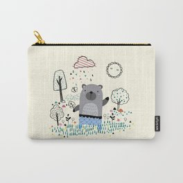 funny cartoon son of the bear Carry-All Pouch