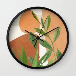 Nature Geometry X Wall Clock