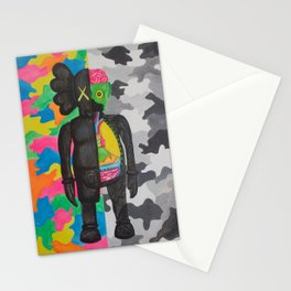 kamo kaws Stationery Cards