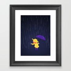 Rain, Rain  Framed Art Print