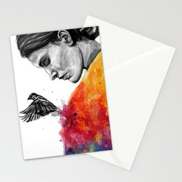 Goodbye depression Stationery Cards