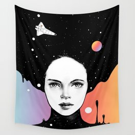 If You Were My Universe Wall Tapestry