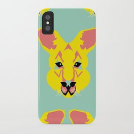 Skippy the Bush Kangaroo iPhone Case