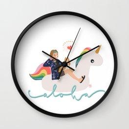 Bon Voyage Taehyung Wall Clock