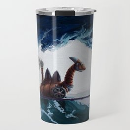 Dragon Tank Bridge Battle Travel Mug